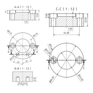 CP-8 Bottom Plate